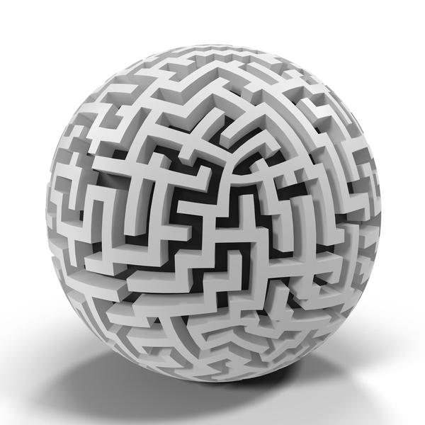Angular Maze PNG & PSD Images