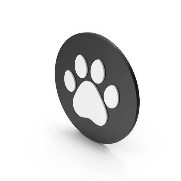 Pawn: Animal Paw Icon PNG & PSD Images