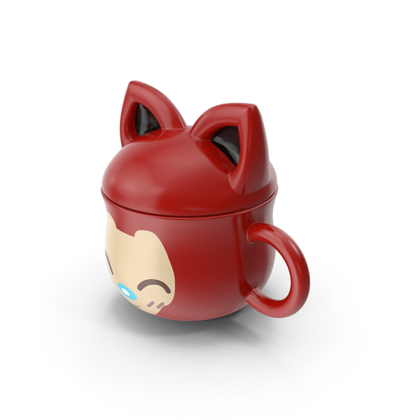 Anime Cat Mug Object