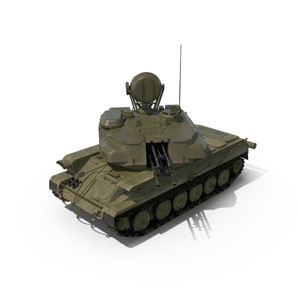 Anti Aircraft Tank ZSU 23 Shilka Object