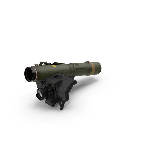Rocket Launcher: Anti Tank Missile FGM-148 Javelin PNG & PSD Images