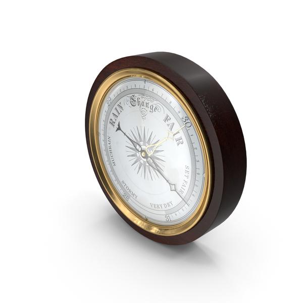 Antique Barometer PNG & PSD Images
