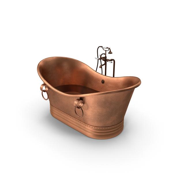 Bath: Antique Bathtub PNG & PSD Images