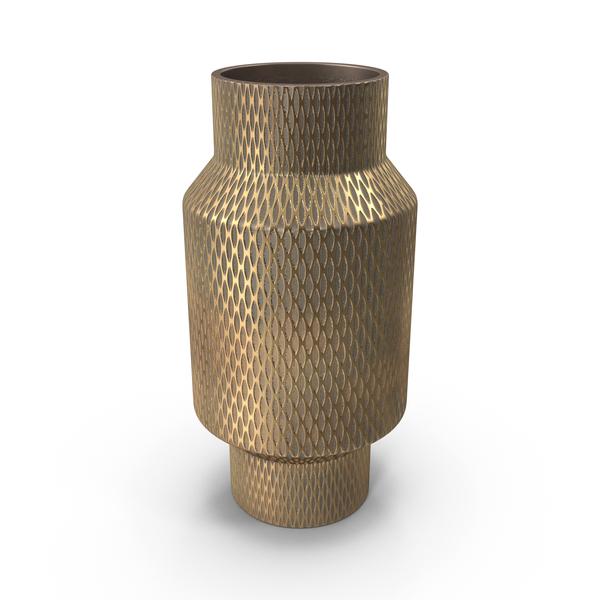 Antique Brass Vase PNG & PSD Images