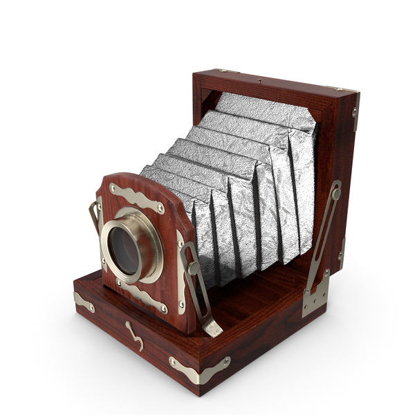 Antique Folding Camera PNG & PSD Images