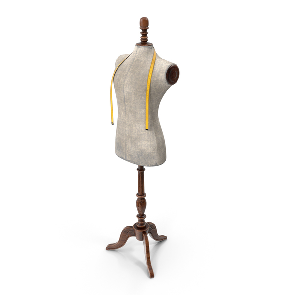 Sewing Dummy: Antique Mannequin PNG & PSD Images