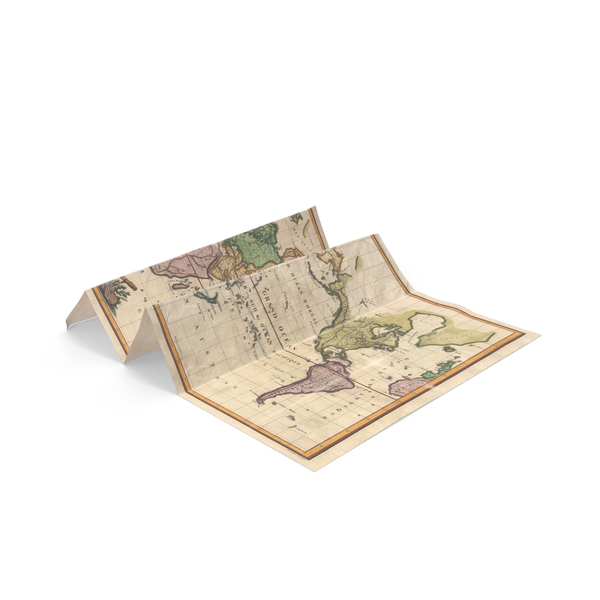 Antique Map PNG & PSD Images