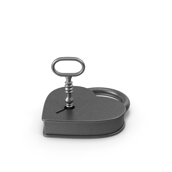 Antique Padlock and Key PNG & PSD Images