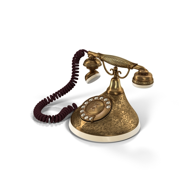 Antique Phone PNG & PSD Images