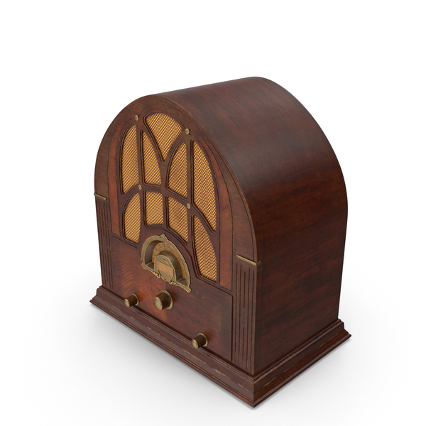 Antique Radio PNG & PSD Images