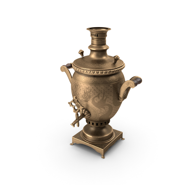 Antique Russian Samovar PNG & PSD Images