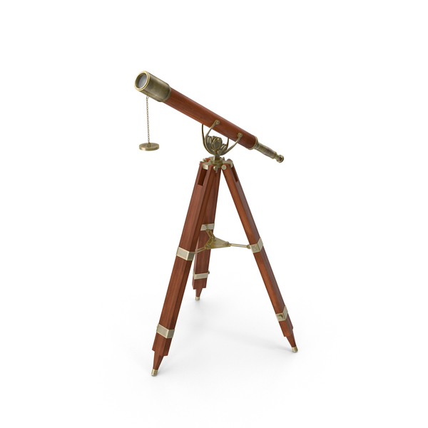 Antique Telescope PNG & PSD Images