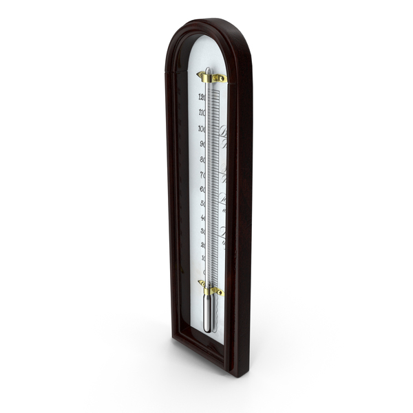 Atmospheric: Antique Thermometer PNG & PSD Images