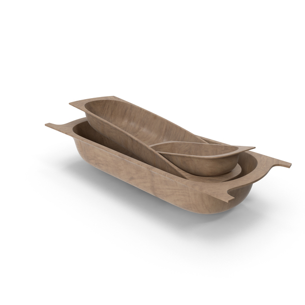 Antique Wooden Containers PNG & PSD Images