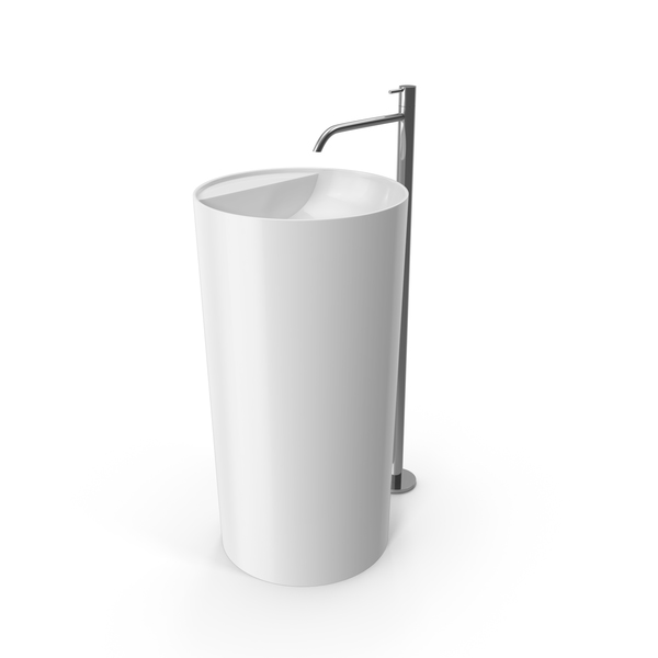 Sink: Antonio Lupi Freestanding Washbasin PNG & PSD Images