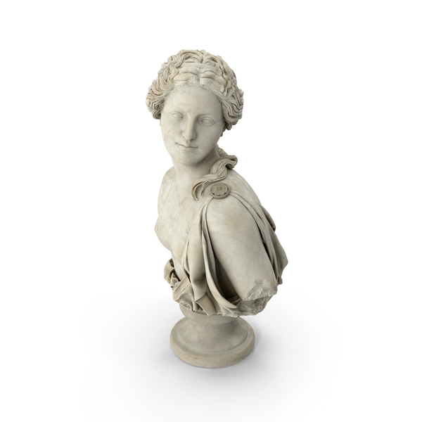 Aphrodite Bust PNG & PSD Images