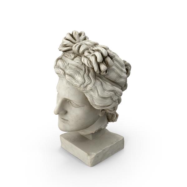 Aphrodite Head PNG & PSD Images