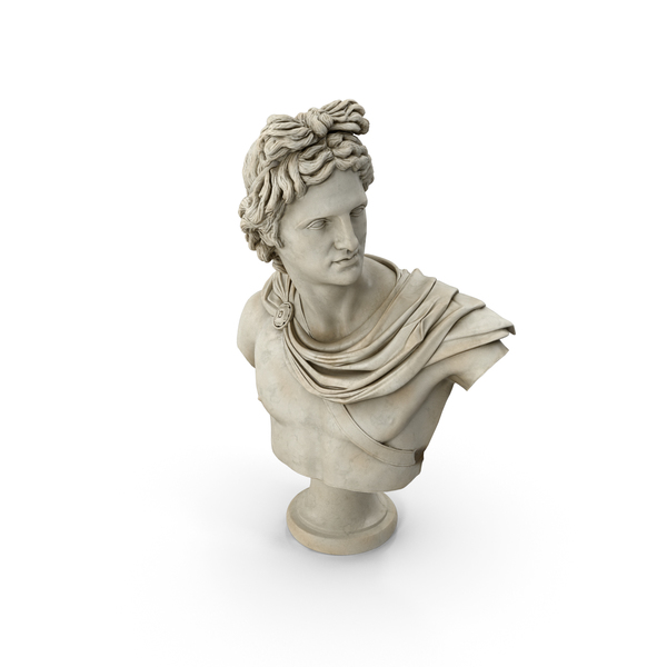 Apollo Belvedere Bust PNG & PSD Images