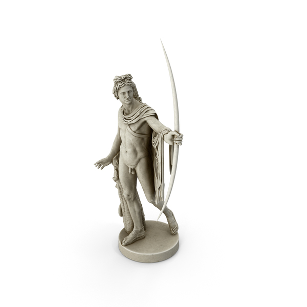 Statue: Apollo Belvedere PNG & PSD Images