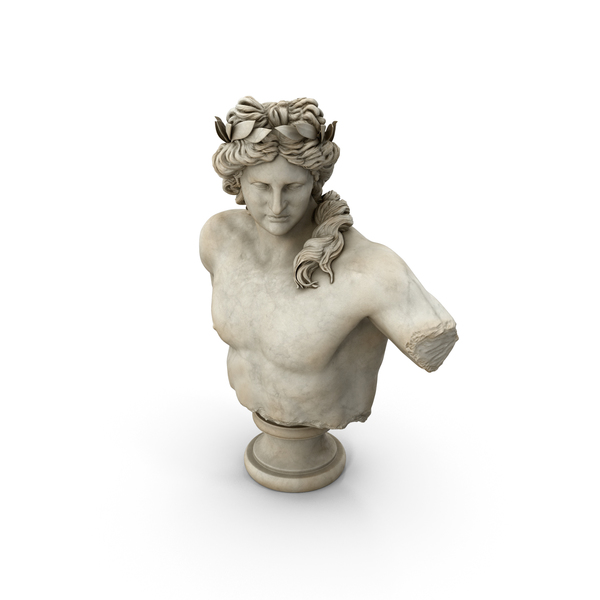 Apollo Bust PNG & PSD Images