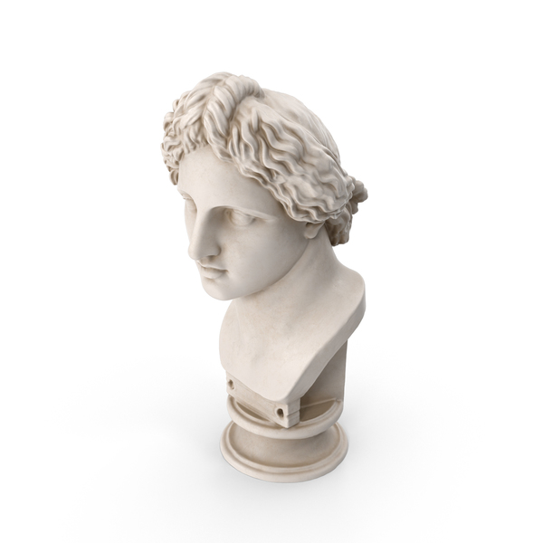Apollo Lykeios Bust PNG & PSD Images