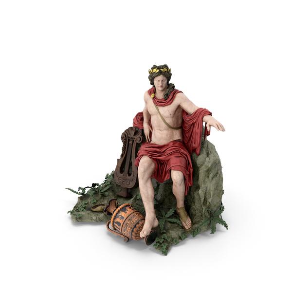 Apollo Sculpture PNG & PSD Images