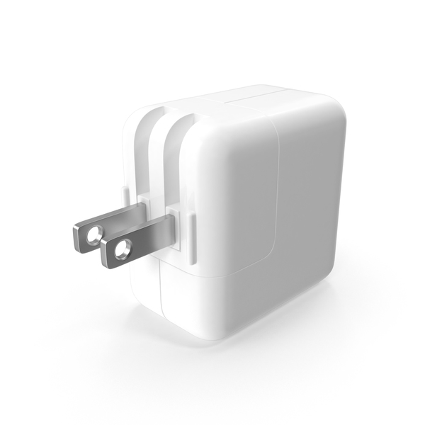 Apple 12W USB Power Adapter PNG & PSD Images