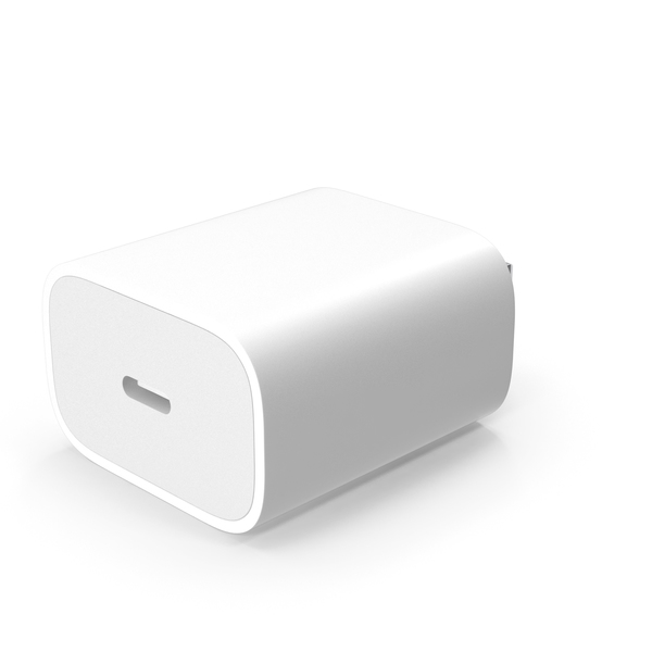 Apple 20W Type C Fast Charger PNG & PSD Images
