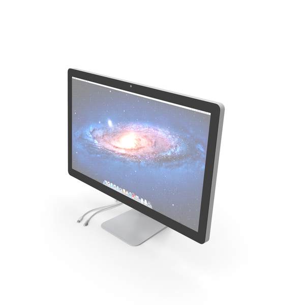 Apple 27 Inch Thunderbolt Display PNG & PSD Images