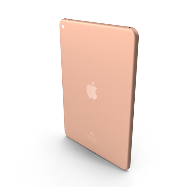 Apple 9.7-inch iPad Rose Gold PNG & PSD Images
