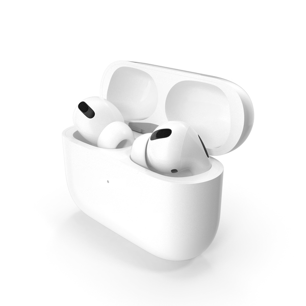 Earphones: Apple AirPods Pro with Wireless Charging Case PNG & PSD Images