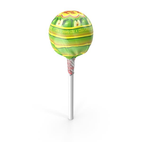Apple Chupa Chups Wrapped PNG & PSD Images