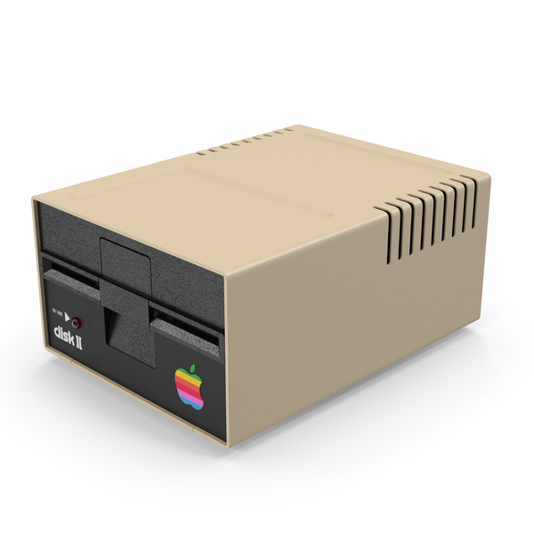 Apple Disk II PNG & PSD Images