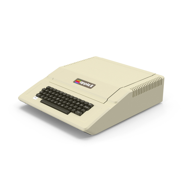 Apple ][e PNG & PSD Images