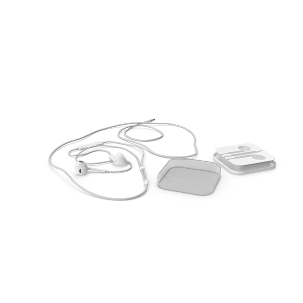 Apple Earbuds PNG & PSD Images