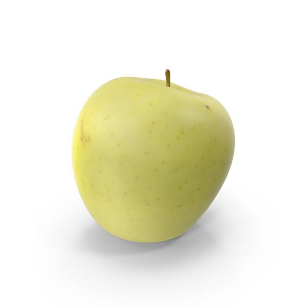 Apple Golden PNG & PSD Images