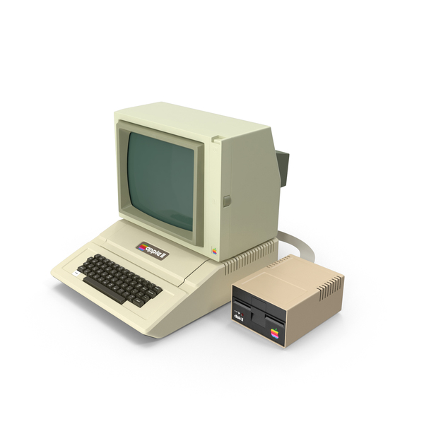 Desktop Computer: Apple II PNG & PSD Images