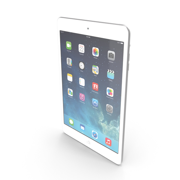 Apple iPad Mini 2 Silver PNG & PSD Images