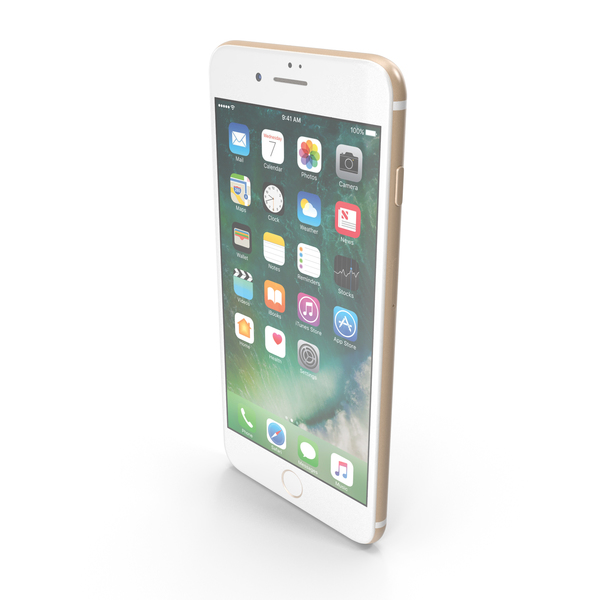 Apple iPad mini 3 Gold PNG & PSD Images