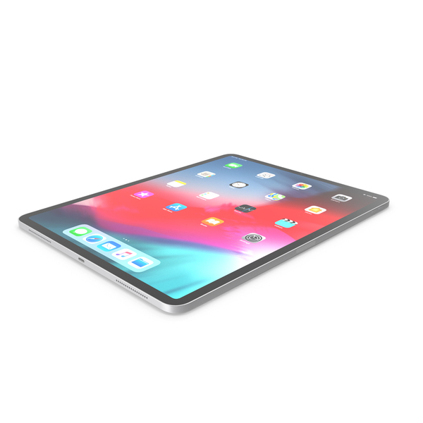 Apple iPad Pro 12.9 inch Wi-Fi 2018 PNG & PSD Images