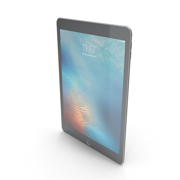 Apple iPad Pro 9.7 Space Gray PNG & PSD Images