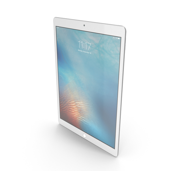 Apple iPad Pro Silver PNG & PSD Images