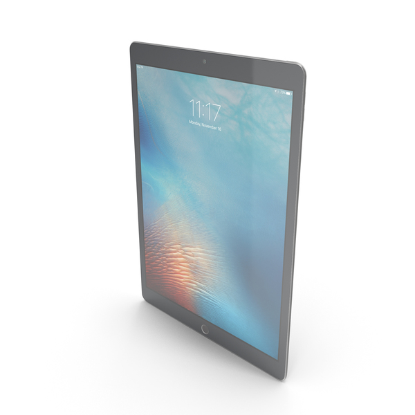 Apple iPad Pro Space Gray PNG & PSD Images
