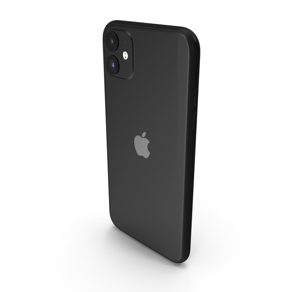 Apple iPhone 11 Black PNG & PSD Images