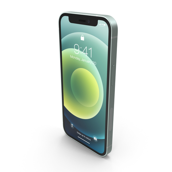 Smartphone: Apple iPhone 12 Mini Green PNG & PSD Images