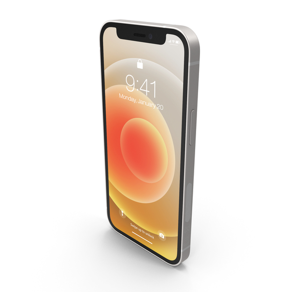 Apple iPhone 12 Mini White PNG & PSD Images