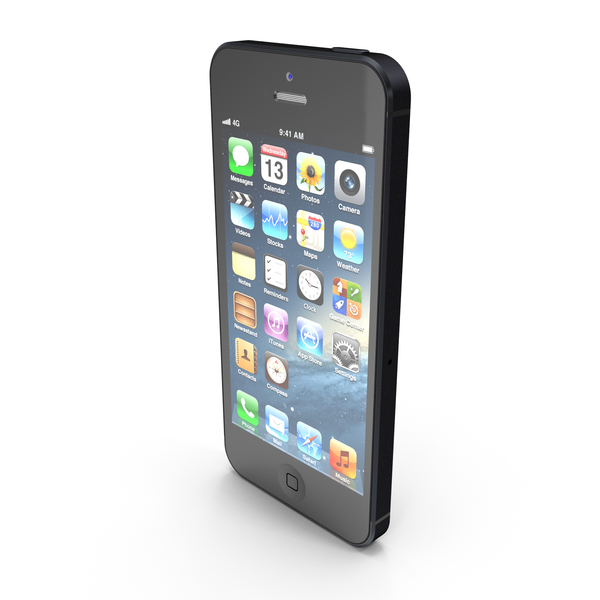 Apple iPhone 5 PNG & PSD Images