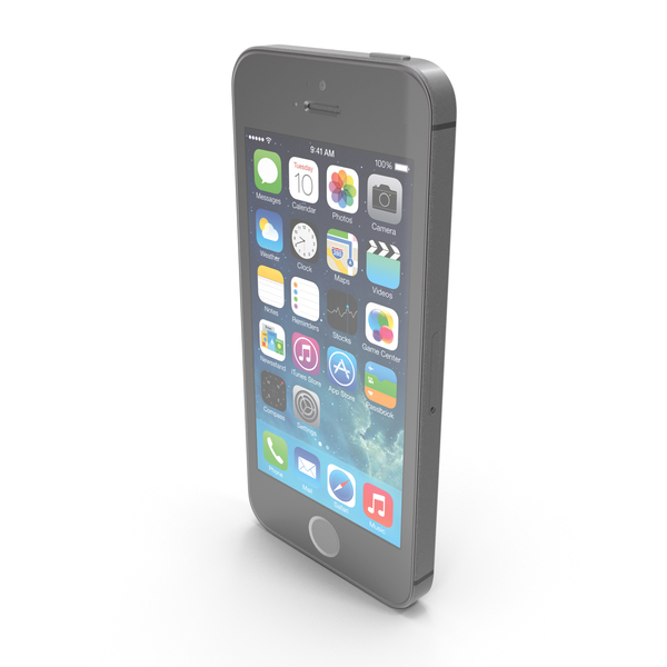 Apple iPhone 5s Black/Slate PNG & PSD Images