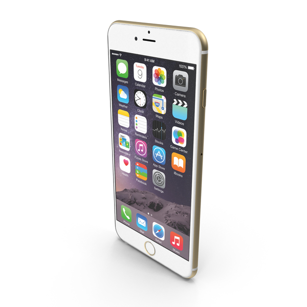 Smartphone: Apple iPhone 6 Plus PNG & PSD Images