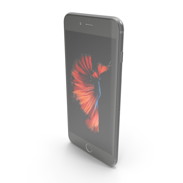 Apple iPhone 6s Plus Space Gray PNG & PSD Images